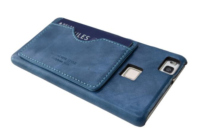ハードケース カードポケット付き